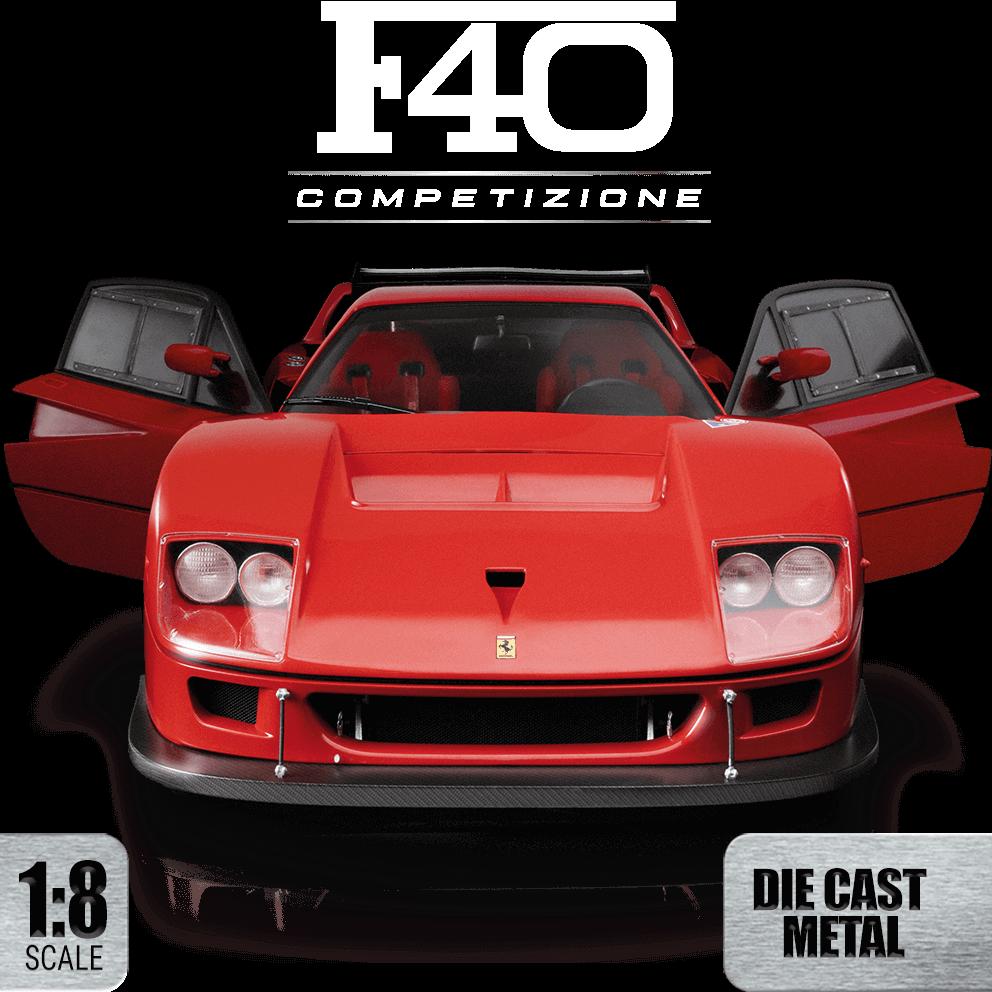 Ferrari F40: COMPETIZIONE